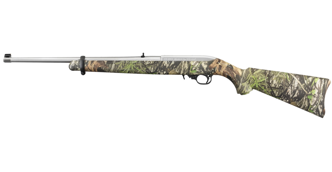 10/22 CARBINE 22LR STAINLESS MOSSY OAK