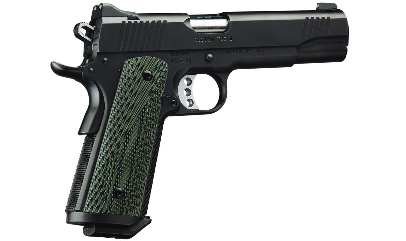 Custom TLE II (EM) 1911 45 ACP with Extended Magwell