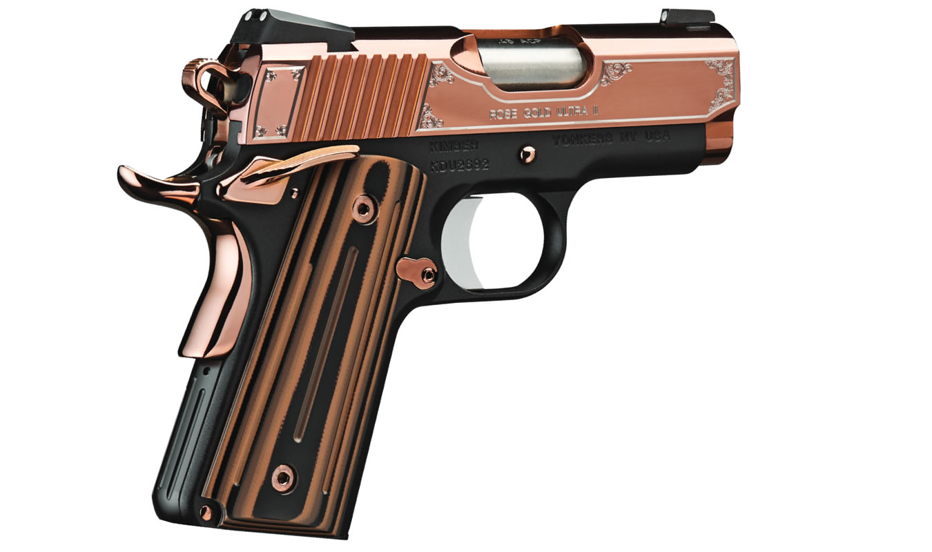 ROSE GOLD ULTRA II 45 ACP