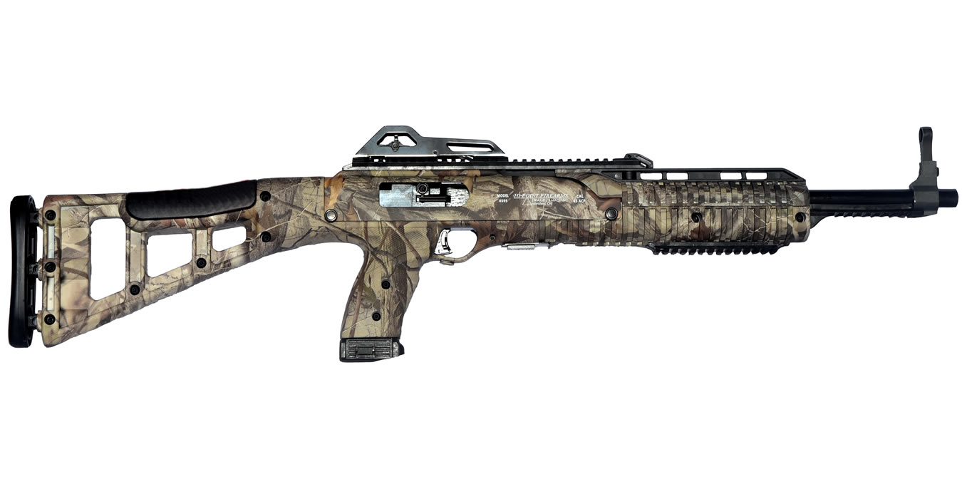HI POINT 4595TS 45 ACP WOODLAND CAMO CARBINE