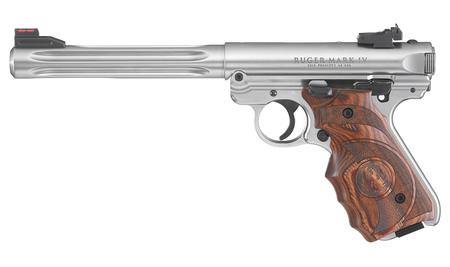 New Model: RUGER MARK IV HUNTER 22LR W/FIBER OPTIC SIGHTS