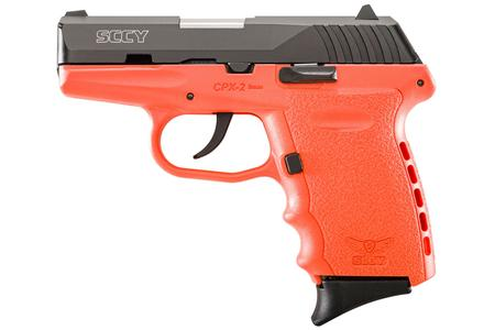 SCCY CPX2 9MM ORANGE FRAME PISTOL