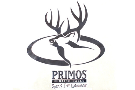 PRIMOS 9` X 9` DEER LOGO DECAL