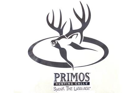PRIMOS 9` X 9` DEER LOGO DECAL