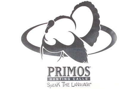 PRIMOS 9` X 9` TURKEY LOGO DECAL