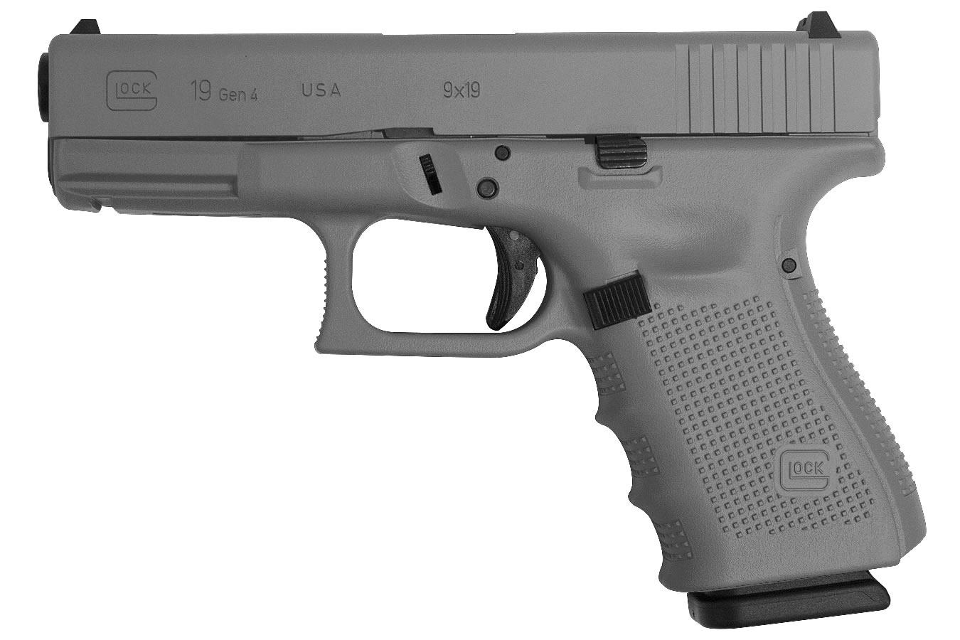 Glock 19 Gen4 9mm 15-Round Pistol with Cerakote Elite ...