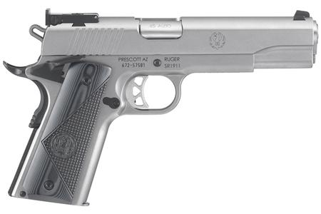 SR1911 45ACP STAINLESS TARGET