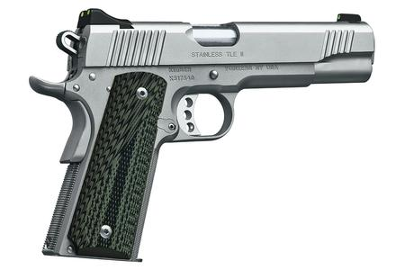 KIMBER STAINLESS TLE II 45ACP WITH NIGHT SIGHTS