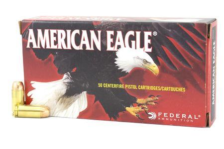 FEDERAL AMMUNITION 40SW 155 gr FMJ American Eagle Police Trade Ammo 50/Box
