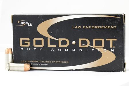 Speer 40SW 155 gr HP Gold Dot Police Trade Ammo 50/Box