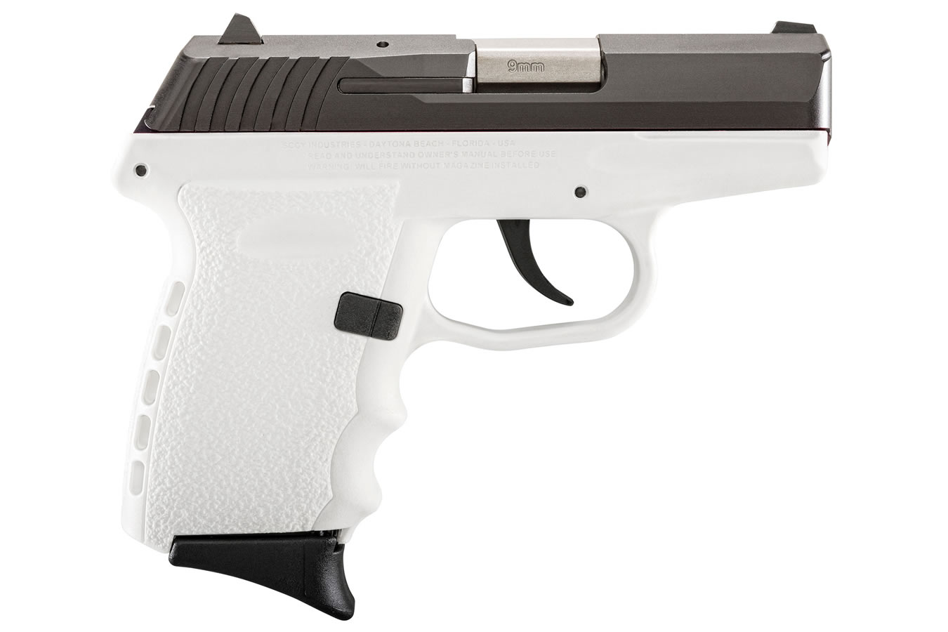 sccy cpx 2 9mm white pistol with carbon slide sportsman s outdoor