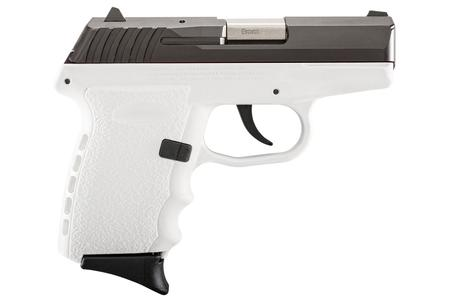 CPX-2 9MM WHITE PISTOL WITH CARBON SLIDE