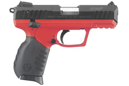 SR22 22LR RED TITANIUM W/THREADED BARREL