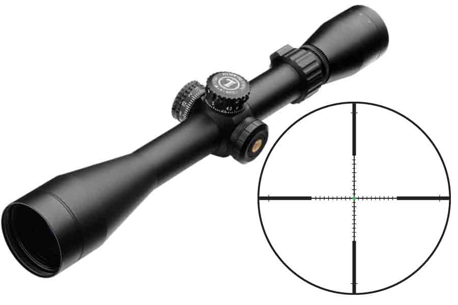 Mark AR MOD 1 3-9x40mm Firedot_G-TMR Illuminated Matte Black
