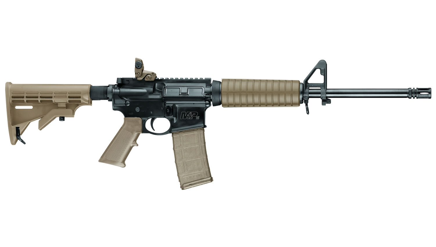 No. 19 Best Selling: SMITH AND WESSON MP15 SPORT II 5.56 FDE RIFLE