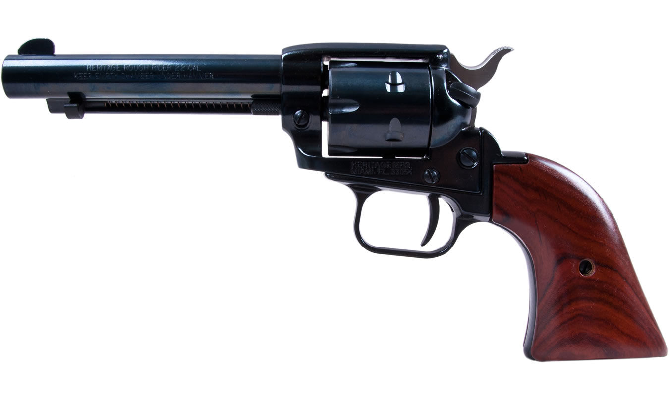 Heritage Rough Rider 22lr And 22 Mag Combo Revolver With 4