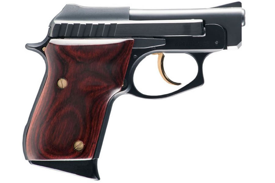PT-22 22LR Rimfire Pistol with Rosewood Grips and Gold Accents (Cosmetic  Blemishes)