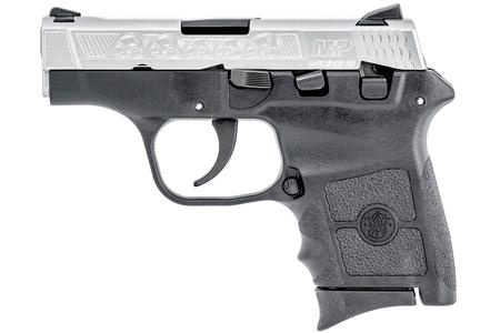 SMITH AND WESSON MP BODYGUARD 380 WITH ENGRAVED SLIDE