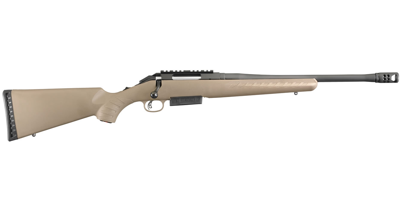 American Rifle Ranch 450 Bushmaster with Flat Dark Earth Synthetic Stock