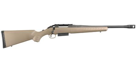 RUGER American Rifle Ranch 450 Bushmaster with Flat Dark Earth Synthetic Stock