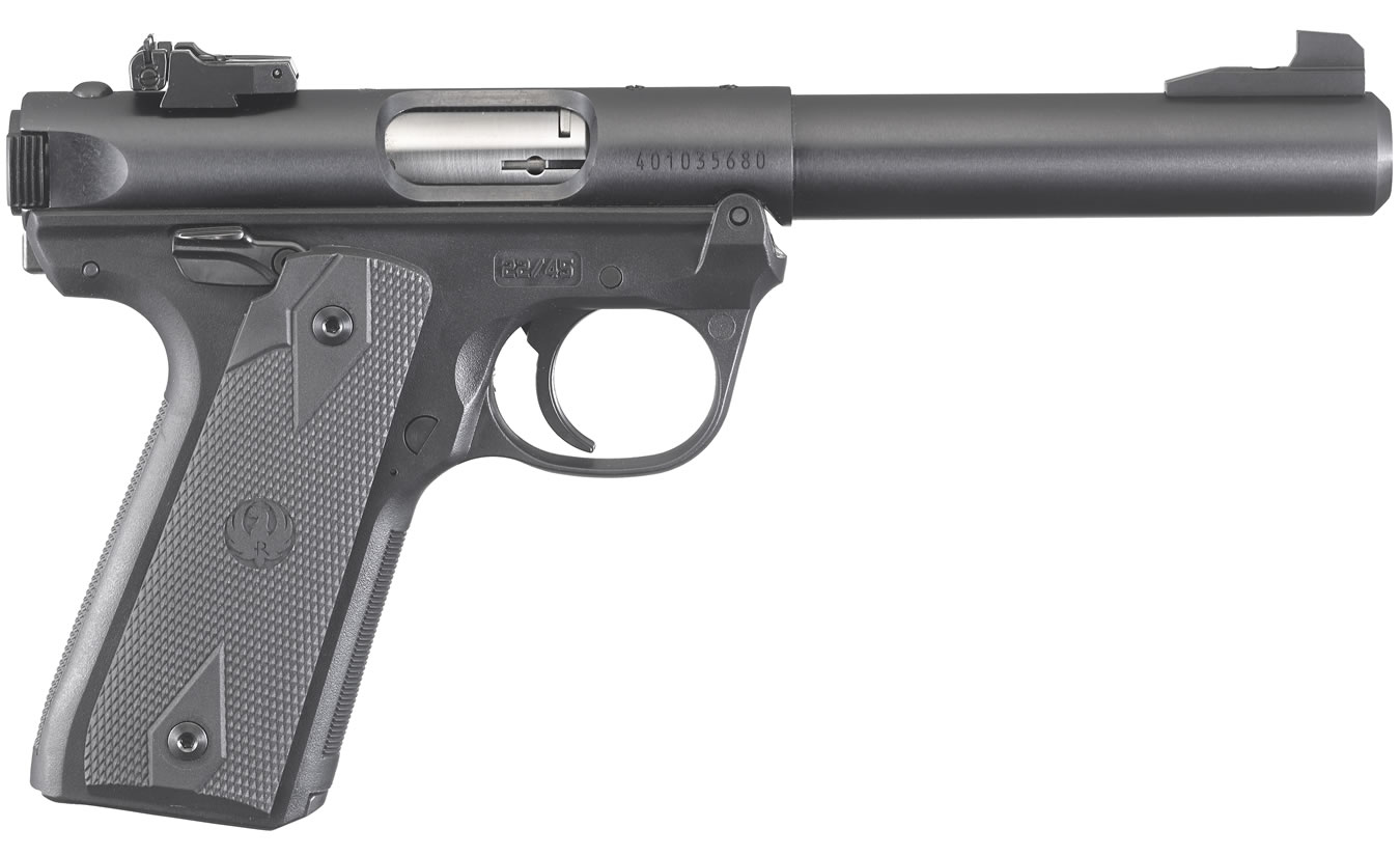 No. 13 Best Selling: RUGER MARK IV 22/45 TARGET 22LR RIMFIRE PISTOL