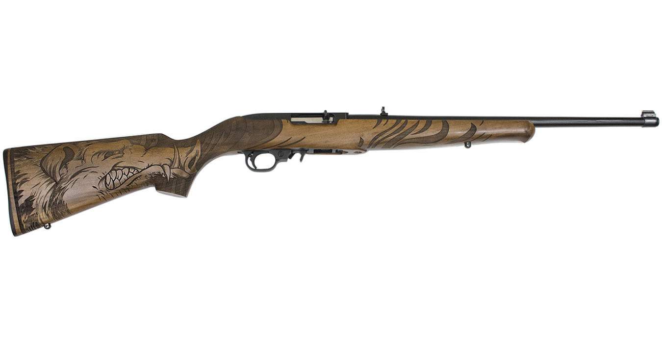 No. 12 Best Selling: RUGER 10/22 22LR WILD HOG STOCK EXCLUSIVE