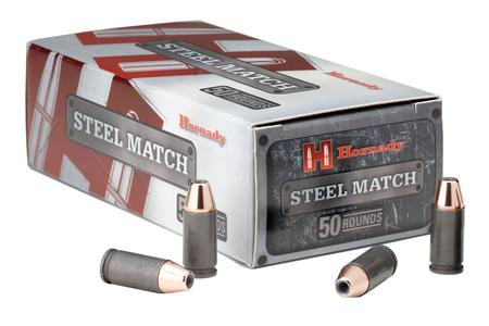 Hornady 9mm Luger 125 gr HAP Steel Match 50/Box