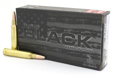 Hornady 5.56mm NATO 75 gr Interlock HD SBR Black 20/Box