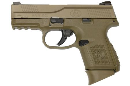 FNS-9 COMPACT 9MM FDE (NMS)