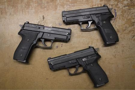 Sig Sauer P229R 40 S&W DA/SA Police Trade-in Pistols with Rail (Fair  Condition)