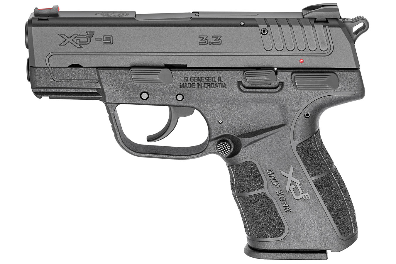 XDE 9MM 3.3 INCH BLACK PISTOL