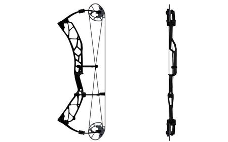 ELITE ARCHERY Option 7, RH, 28 Inch 70# BLK