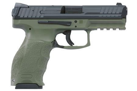 VP9 9MM OD GREEN TWO 15RD MAGAZINES