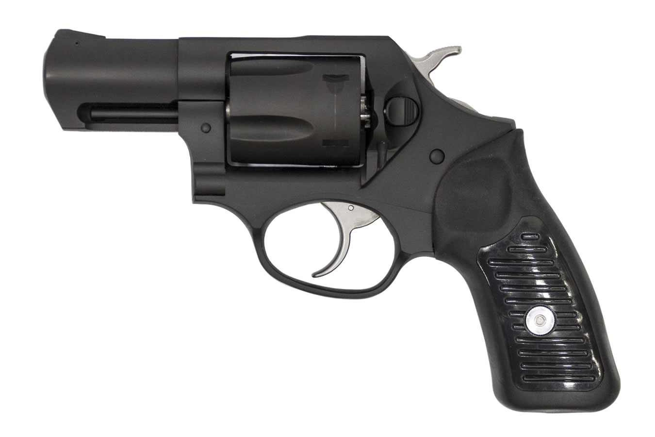 SP101 357 Magnum Double-Action Revolver with Black Cerakote Finish