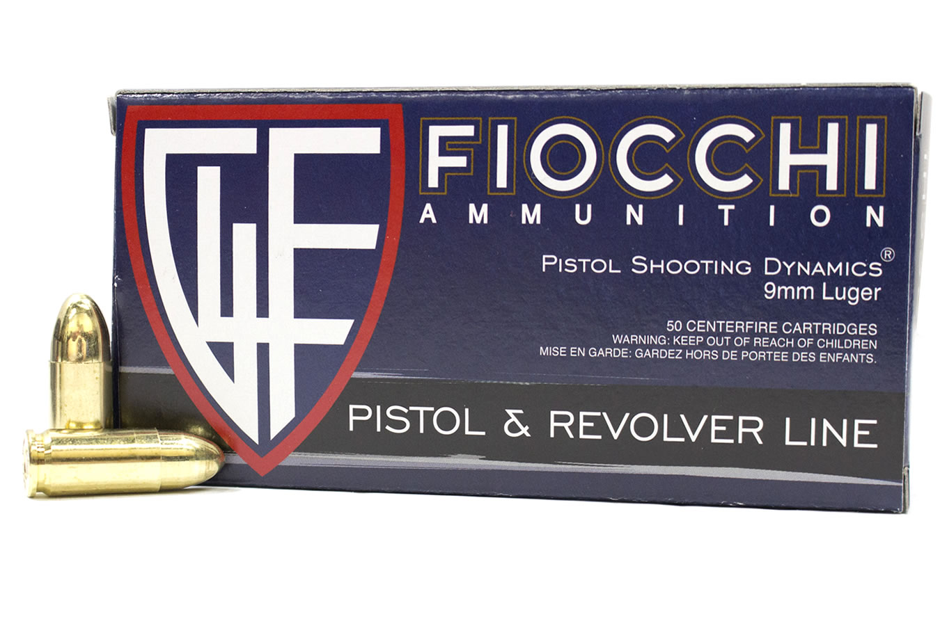 9MM LUGER 115 GR FMJ AMMO 50/BOX