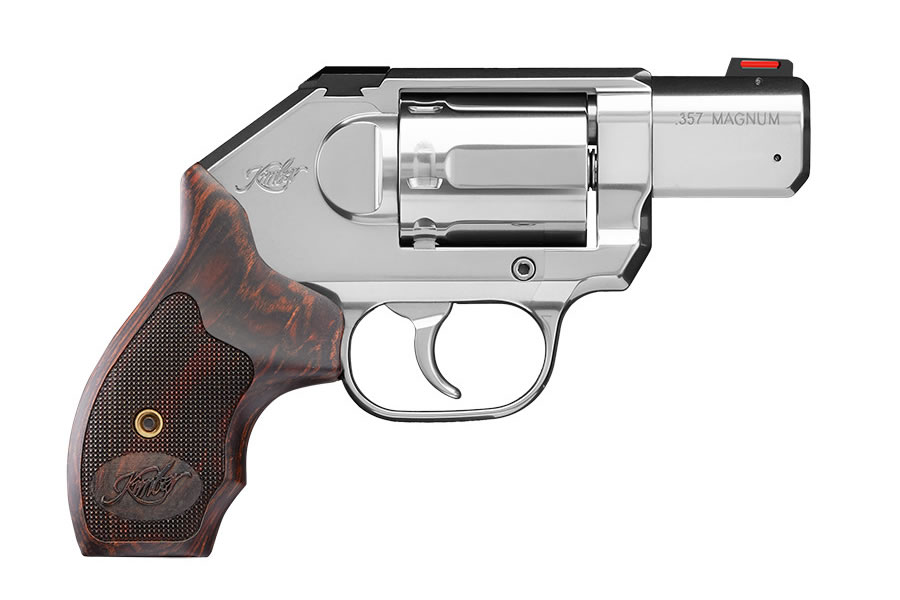 K6s 357 Magnum Deluxe Carry Revolver with Wood Grips