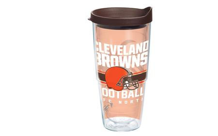 CLEVELAND BROWNS GRIDIRION 24OZ W/LID