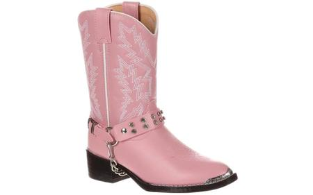 GIRLS PINK BLING BOOT