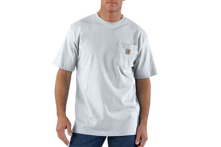 CARHARTT WORKWEAR POCKET COTTON T-SHIRT