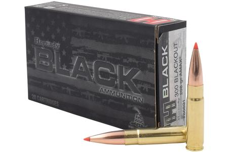 HORNADY 300 Blackout 208 gr A-MAX Black (Subsonic) 20/Box
