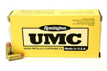 REMINGTON 40SW 165 gr MC UMC Trade-in Ammo 50/Box