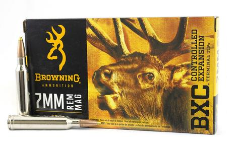 BROWNING AMMUNITION 7mm Rem Mag 155 gr BXC Big Game 20/Box