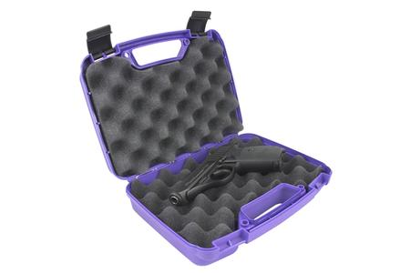 SINGLE PURPLE GUN CASE