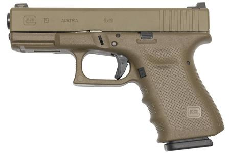 19 GEN3 9MM VICKERS TACTICAL FDE