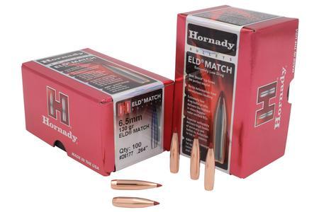 6.5MM 130 GR ELD MATCH 100/BOX