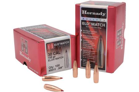 30 CAL (.308) 155 GR ELD MATCH 100/BOX