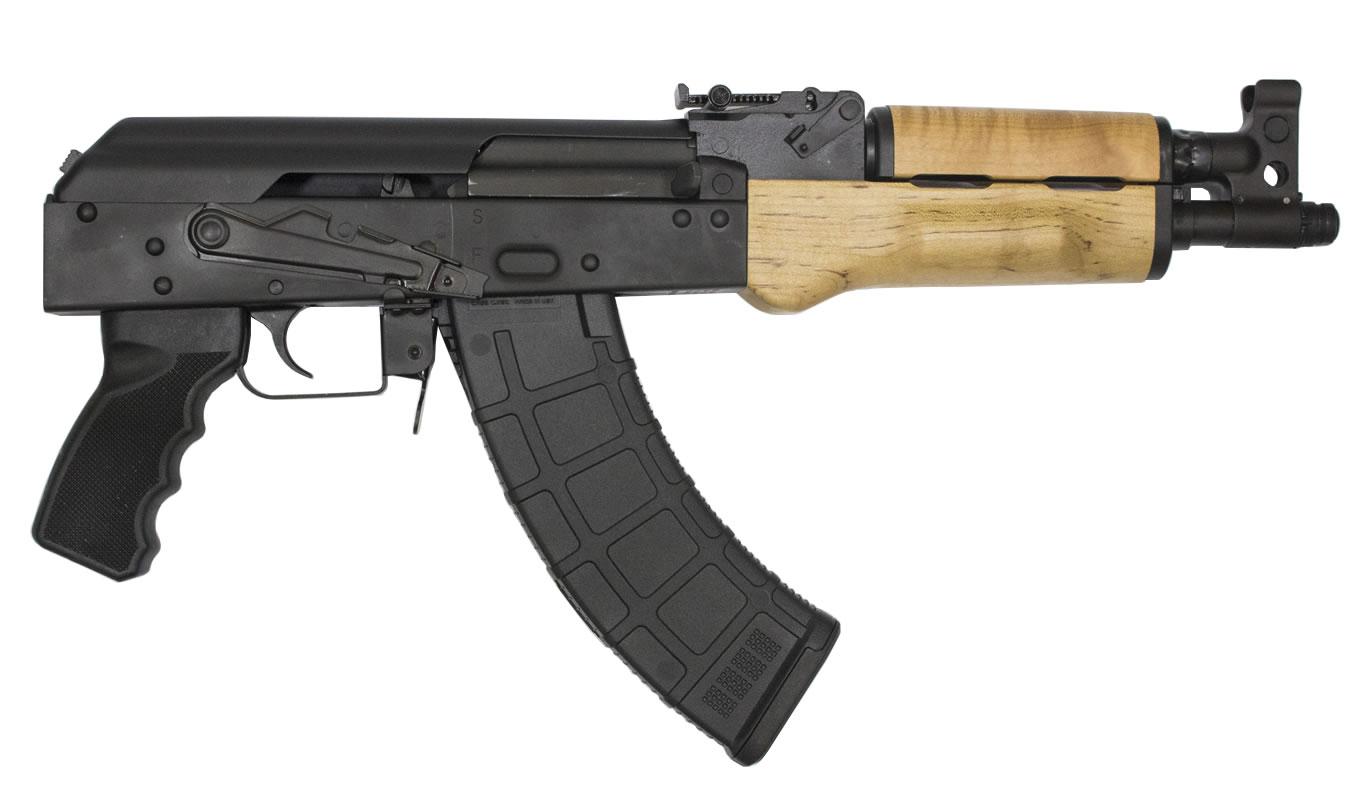 century arms draco 7 62x39mm semi auto pistol with 10 5 inch barrel