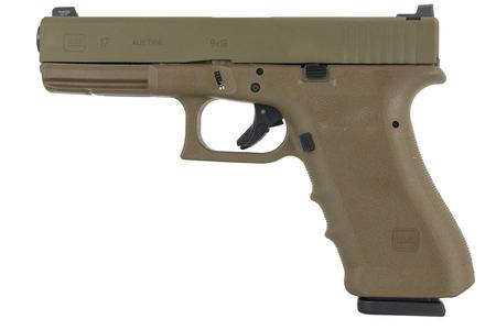 17 GEN 3 VICKERS TACTICAL 9MM FDE PISTOL