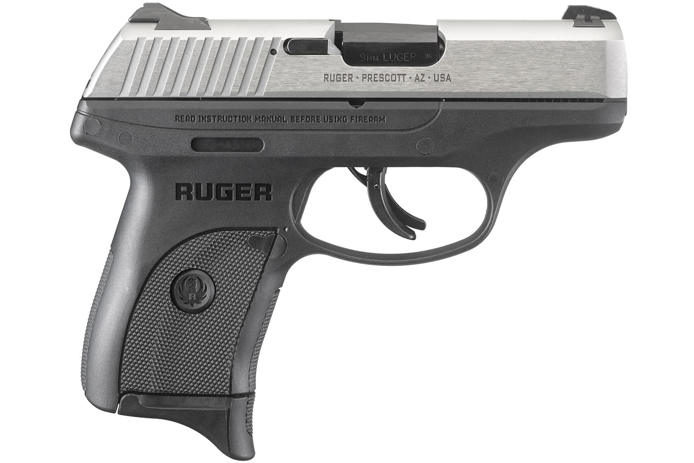 RUGER LC9S 9MM WITH STAINLESS SLIDE
