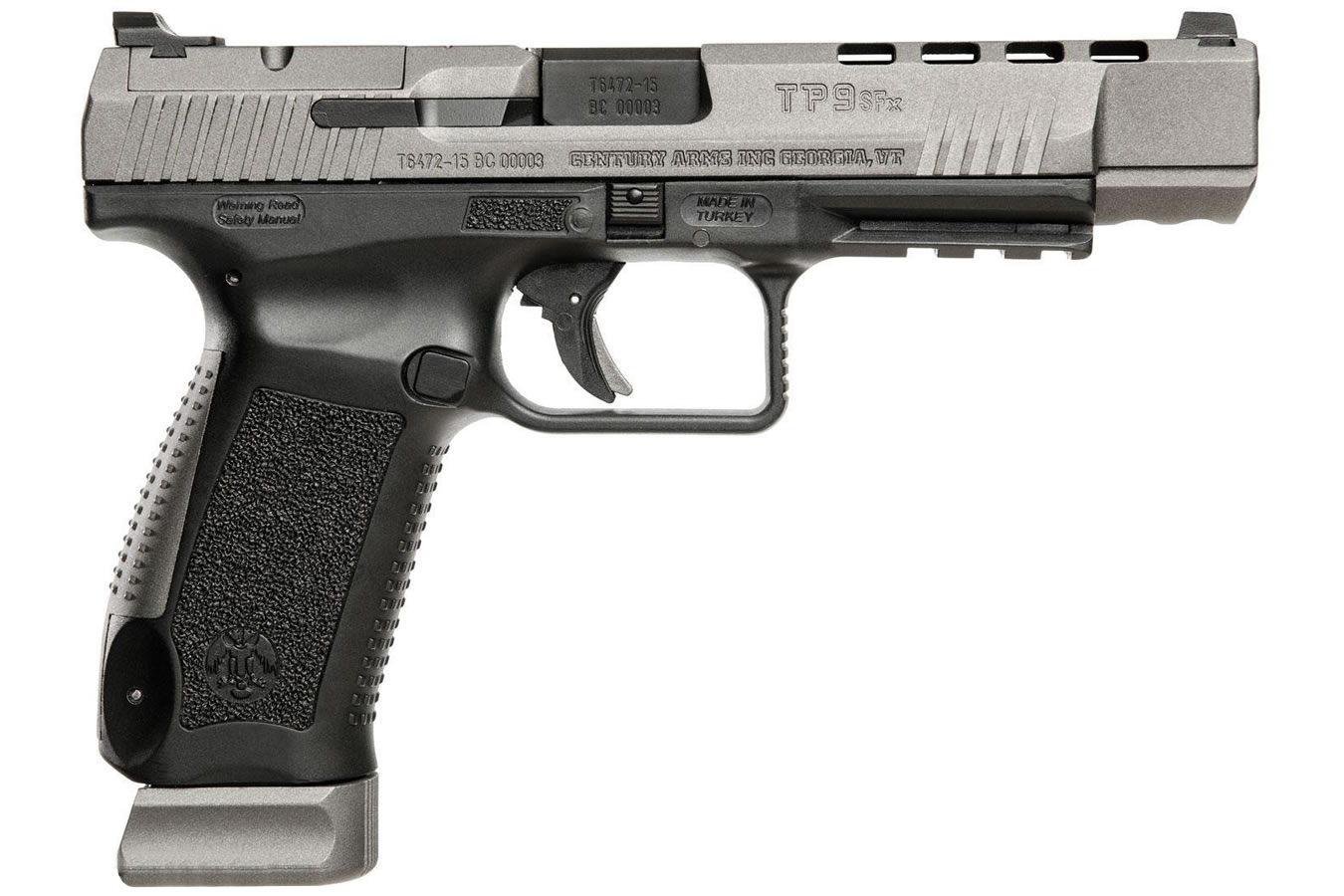 No. 20 Best Selling: CENTURY ARMS CANIK TP9SFX 9MM WITH 20 ROUND MAGAZINE